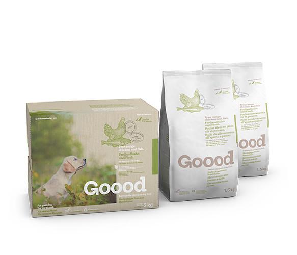 Goood Junior Freilandhuhn & Fisch dry